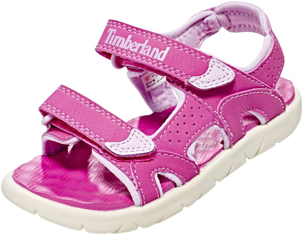 Timberland Perkins Row 2-Strap Sandals Kids Medium Pink Schuhgröße 29 2018 Sandalen QsmVoY8anP